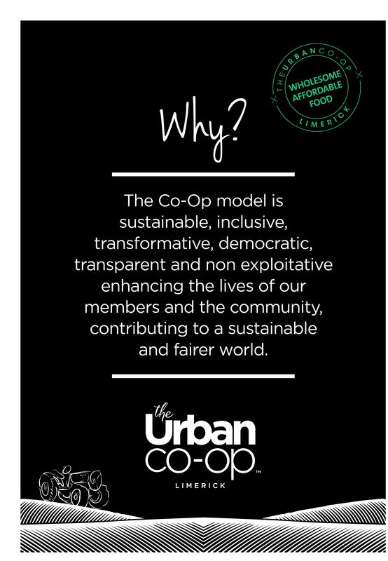 Why join the urban co-op